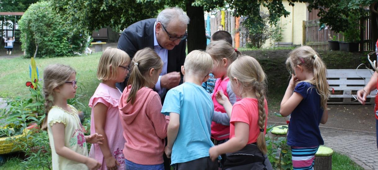 Bundespolitiker Dr. Jürgen Martens istGartenfreund