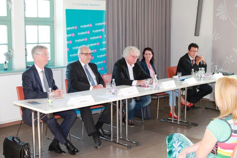 Liberale Gespräche über Europa auf SchlossLeuchtenburg