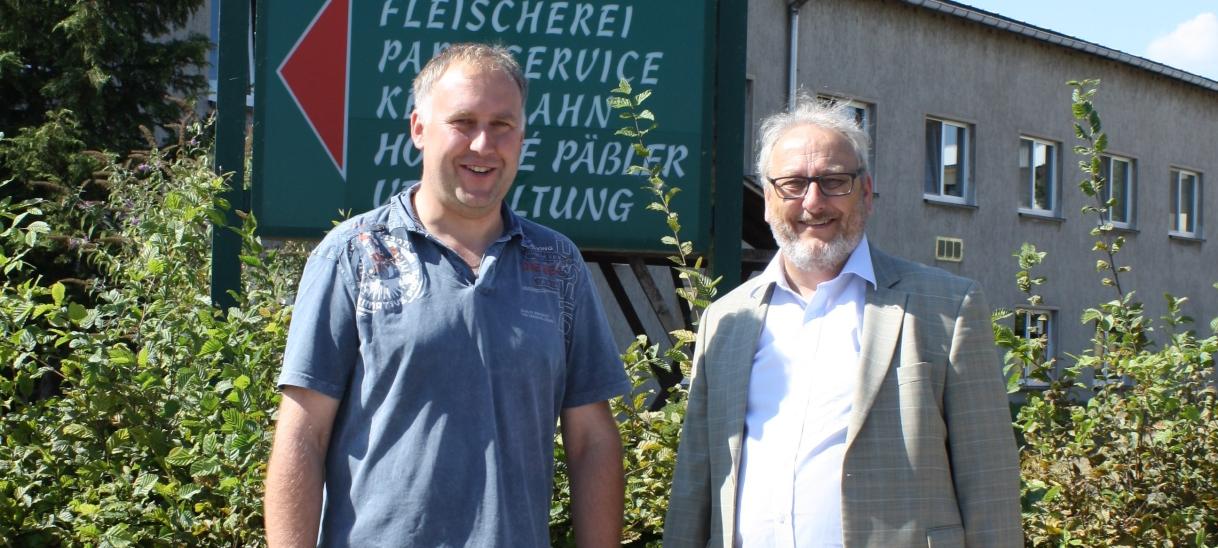 Dr. Jürgen Martens MdB informiert sich überDürreschäden