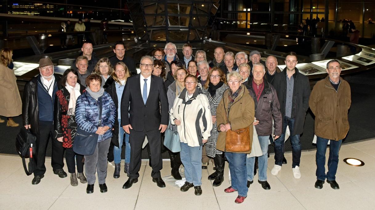 Besuch im Deutschen Bundestag | Besuchergruppe 28.-30.November
