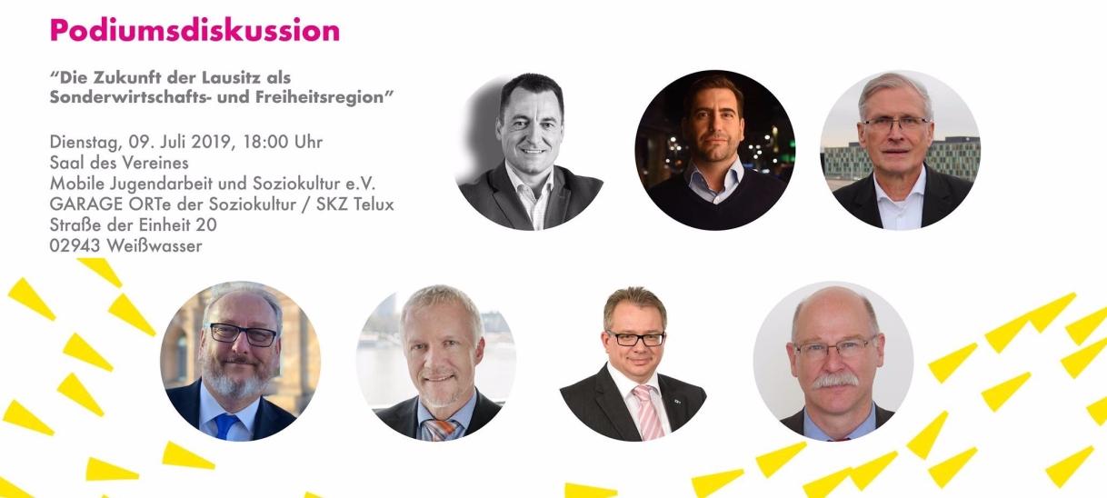 Veranstaltung: Zukunft der Lausitz als Sonderwirtschafts- undFreiheitsregion