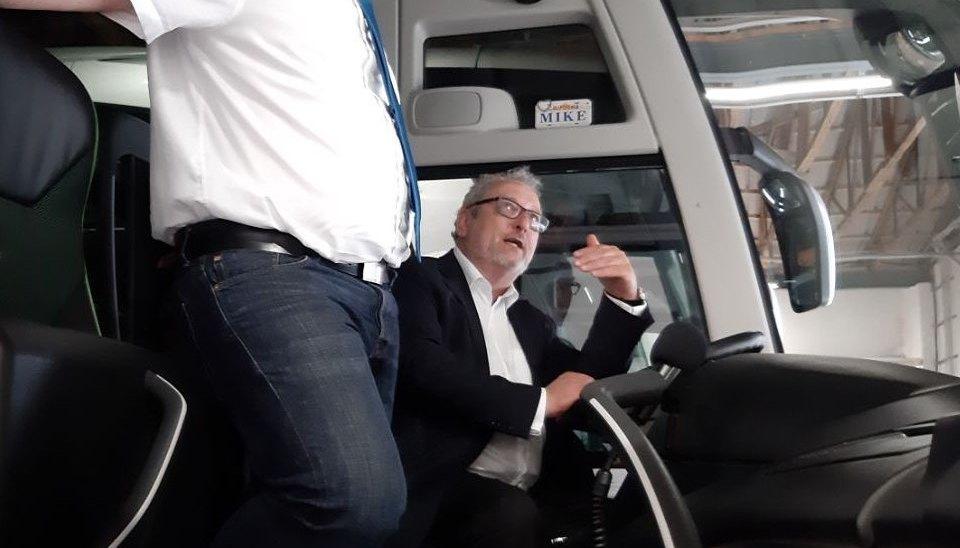 Vor Ort unterwegs: BusunternehmenNictours