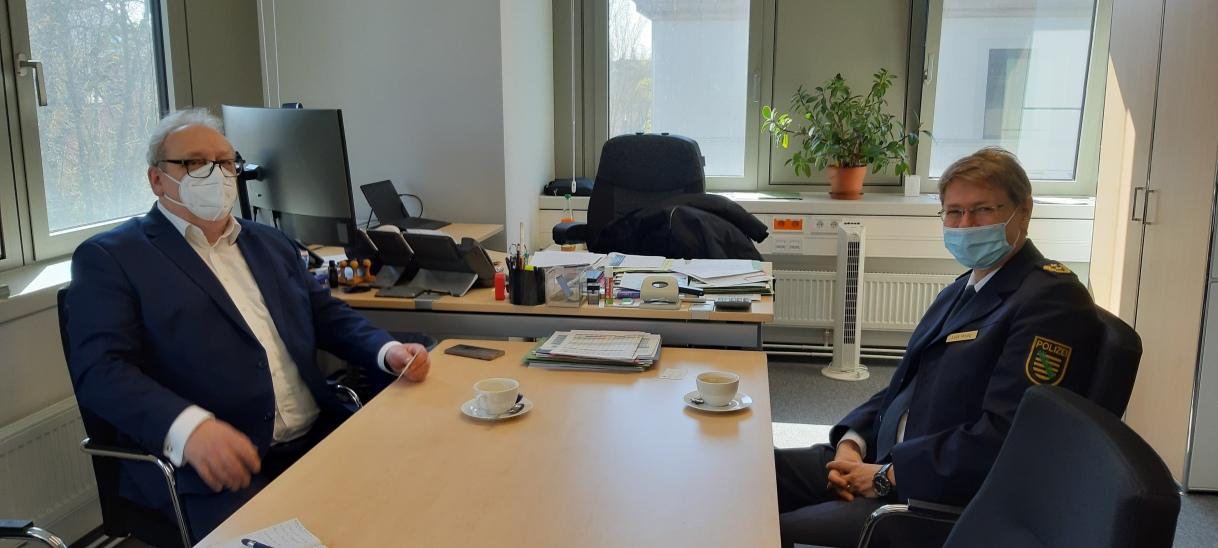 Herausforderungen im neuen Job: Gespräch mit Zwickaus Polizeipräsidenten Lutz Rodig